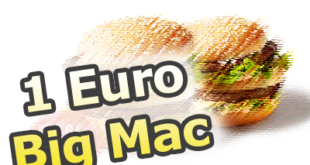 1 Euro Big Mac bekommen